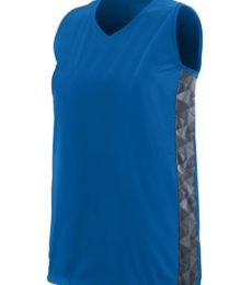 Augusta Sportswear 1723 Girls' Fast Break Racerback Jersey