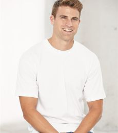 Bayside 1701 USA-Made 50/50 Short Sleeve T-Shirt