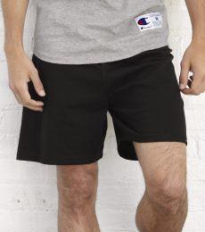 8187 Champion 6.3 oz. Ringspun Cotton Gym Shorts