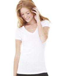 BELLA 8417 Womens Tissue Jersey Deep V-Neck T-shirt