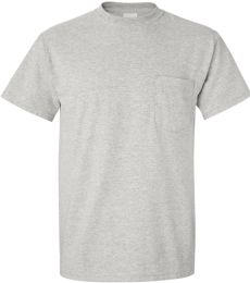 8300 Gildan 5.6 oz. Ultra Blend® 50/50 Pocket T-Shirt
