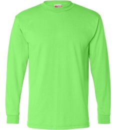 B1715 Bayside Adult Long-Sleeve Blended Tee