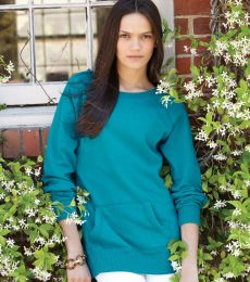 J America 8918 Ladies' Open Neck Tunic