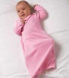 4406 Rabbit Skins Infant Baby Rib Lap Shoulder Layette