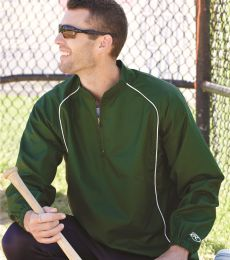 Rawlings 9715 Poly Dobby Quarter-Zip Pullover