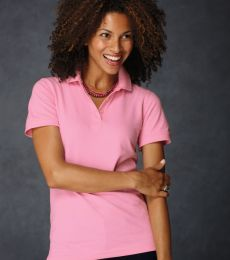 8680 Anvil Ladies Pique S/S Polo