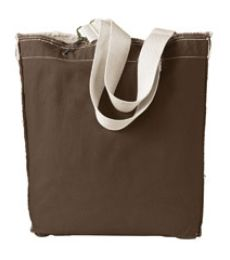 1906 Authentic Pigment 14 oz. Direct-Dyed Raw-Edge Tote