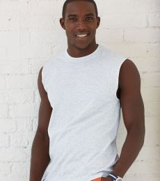 49 Jerzees Adult HiDENSI-TTM Cotton Sleeveless T-Shirt