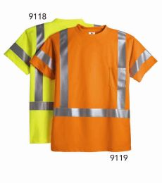 ML Kishigo 9118-9119 Class 3 Short Sleeve T-Shirt