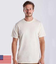 US Blanks US2000G Men's 4.5 oz. Short-Sleeve Garment-Dyed Crewneck