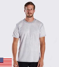 US Blanks US2000-GDS / Men's Seam Wash Garment Dyed Crew