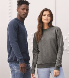 BELLA+CANVAS 3901 Unisex Sponge Fleece Sweatshirt