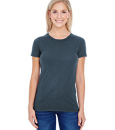 201A Threadfast Apparel Ladies' Slub Jersey Short-Sleeve Tee