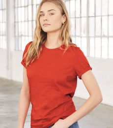 BELLA 6400 Womens Relaxed Jersey Tee