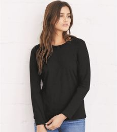 BELLA 6450 Womens Long Sleeve Missy T-Shirt