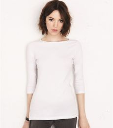 BELLA 6515 Ladies Boatneck T-Shirt