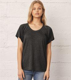BELLA 8801 Womens Jersey Flowy Shirt