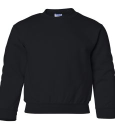 1800B Gildan Youth 7.75 oz. Heavy Blend™ 50/50 Fleece Crew G180B