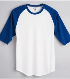 2133 Badger Youth Performance 3/4 Raglan-Sleeve Baseball Undershirt