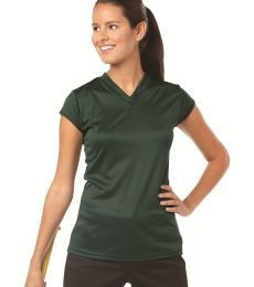 6162 Badger Solid Color Cap Sleeve Ladies Jersey