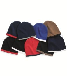 SP09 Sportsman  - 8 Inch Bottom Striped Knit Cap -