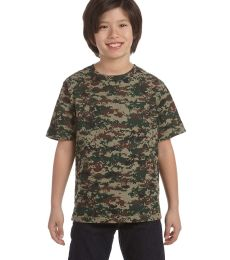 2206 Code V Youth Camouflage T-shirt