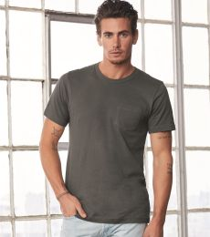 BELLA+CANVAS 3021 Unisex Cotton Pocket Tee