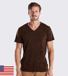 2228 US Blanks Unisex Triblend V-Neck T-Shirt