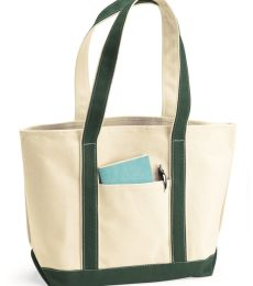 8871 UltraClub® Large Cotton Canvas Boat Tote