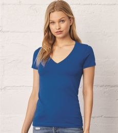 BELLA+CANVAS 6035U USA-Made Deep V-Neck T-shirt