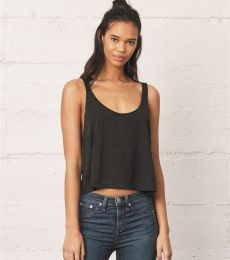 BELLA 8880 Womens Cropped Tank Crop Top