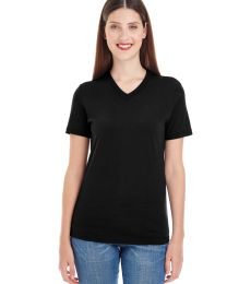 2356 Ladies' Fine Jersey Short-Sleeve Classic V-Neck