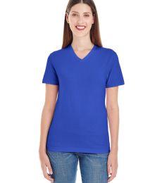 2356 Ladies' Fine Jersey Short-Sleeve Classic V-Neck