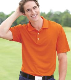 A161 adidas Golf Men's ClimaLite® Textured Short-Sleeve Polo