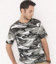 Code V 3906 Adult Camouflage T-shirt