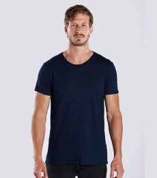 US Blanks US2404 Men's 6 oz. True Indigo Crew
