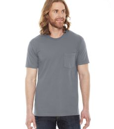 2406W Unisex Fine Jersey Pocket Short-Sleeve T-Shirt