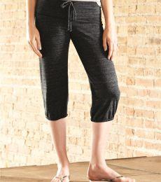 Alternative Apparel 01985E1 Heather Capri Sweatpants
