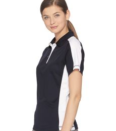 FeatherLite 5465 Women's Colorblocked Moisture Free Mesh Sport Shirt