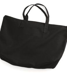 8863 UltraClub® Cotton Canvas Zippered Tote with Gusset