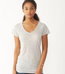 Alternative Apparel AA2662 Ladies V-Neck Burnout T-shirt