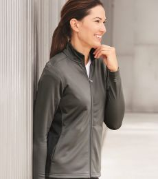S260 Champion Ladies' 5.4 oz. Performance Colorblock Full-Zip Jacket