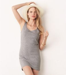 BELLA 6012 Womens Jersey Tank Dress