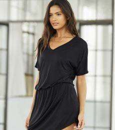 8812 Bella + Canvas Ladies' Flowy V-Neck Dress