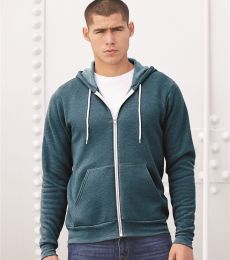 BELLA+CANVAS 3739 Unisex Poly-Cotton Fleece Hoodie