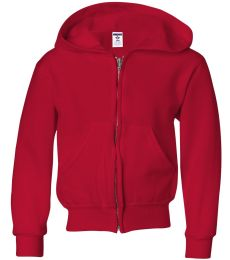 993B Jerzees Youth 8 oz. NuBlend® 50/50 Full-Zip Hood