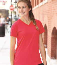 4162 Badger Badger - Ladies' B-Dry Core V-Neck Tee - 4162