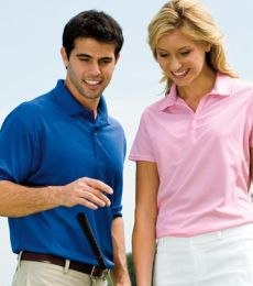 2800 Willowtec by Willow Pointe® Performance Fashion Mesh Golf Shirt Mens
