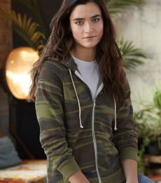 Alternative Apparel 9573 Ladies Eco Fleece Hoodie