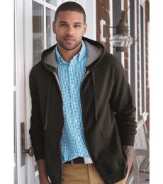Hanes HN280 Nano Full Zip Hooded Sweatshirt